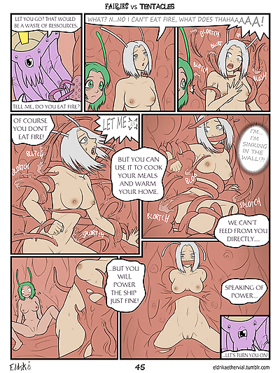 Fairies vs Tentacles - part 3